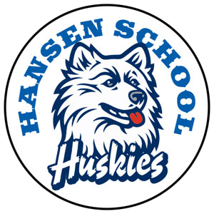 the Hansen Elementary School logo