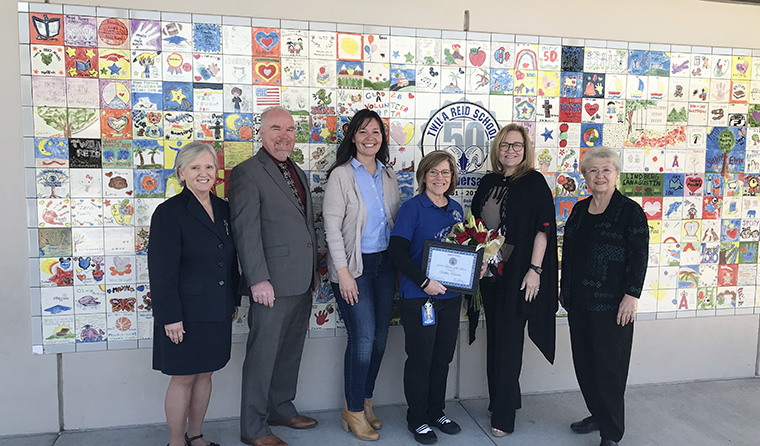 An image of Mrs. Debbie Knowles Named 2020 Teacher of the Year