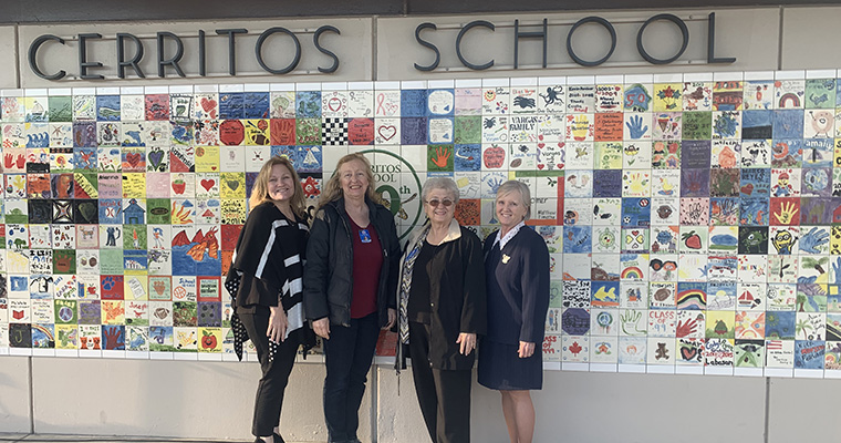 Board Members at Cerritos School