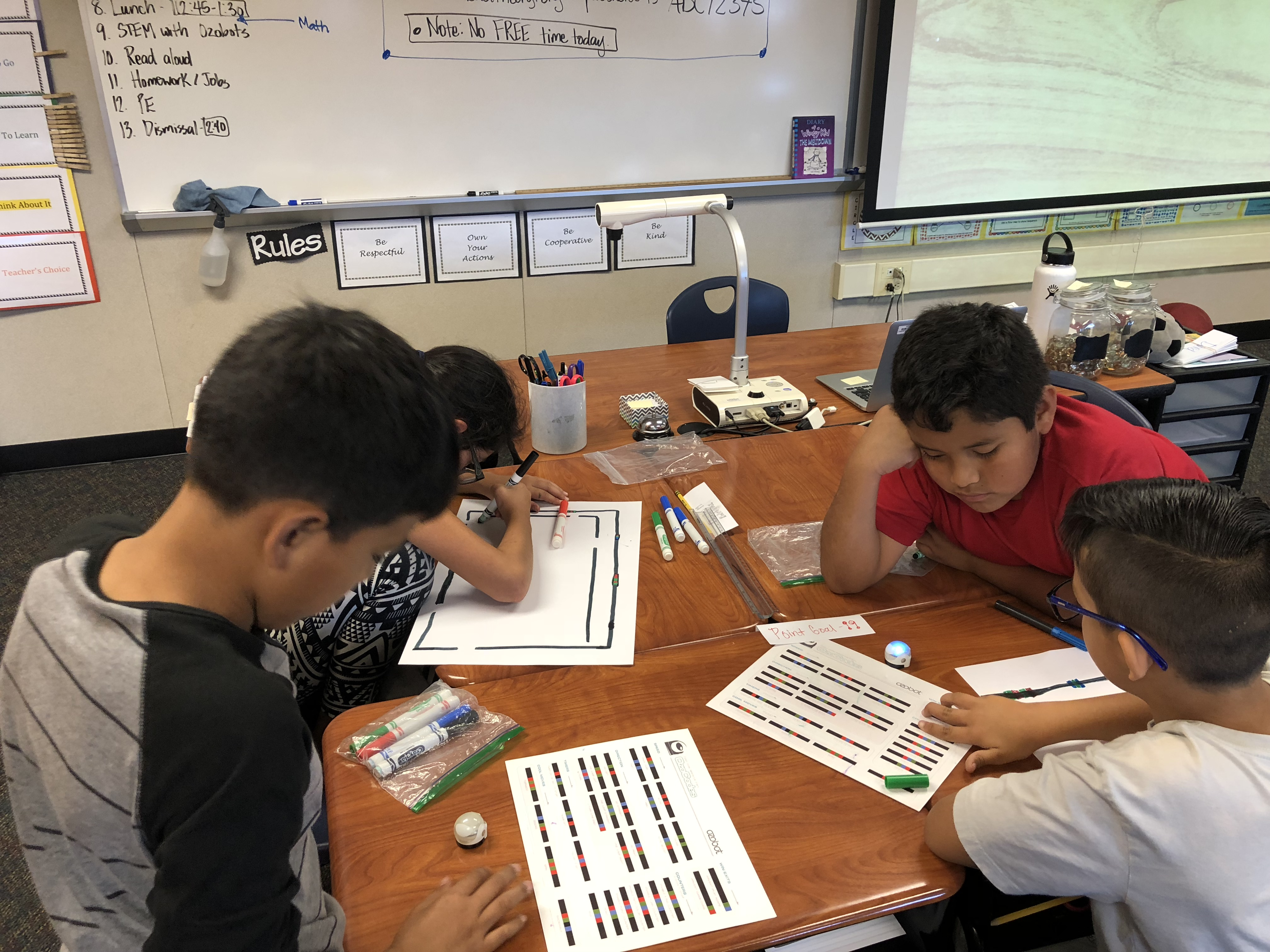 Programing ozobots